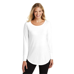District Made® Ladies Perfect Tri® Long Sleeve