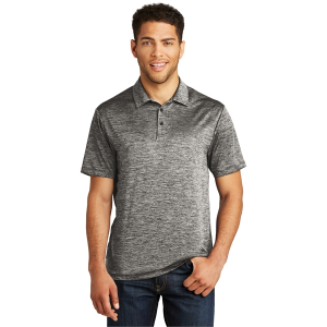 Sport-Tek® Men's PosiCharge® Electric Heather Polo