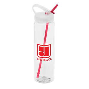 Water Bottle with Flip Up Spout - 32 oz