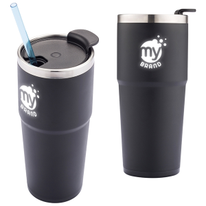 16 oz. Logo Light Up Double Wall Tumbler