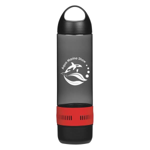 16 Oz. Tritan Rumble Bottle With Speaker