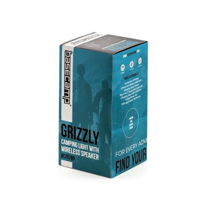 Basecamp® Grizzly Camping Light with Speaker
