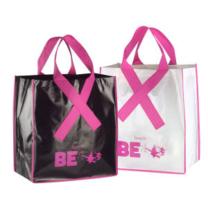Breast Cancer Ribbon Awareness Non-Woven Bag